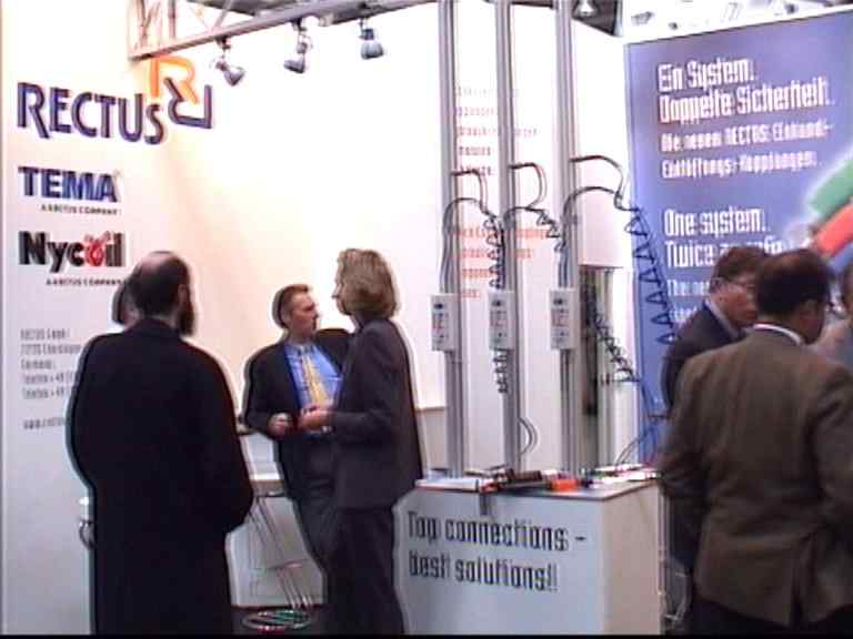 Messestand für das RectuTest RT-02